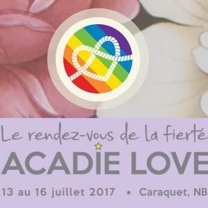 Jean-Paul Daoust au Rendez-vous de la fierté Acadie-Love